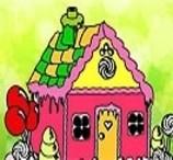 Pinte a Casa de Doce de João e Maria