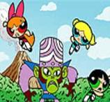 Pinte as Meninas Superpoderosas Contra Macaco Louco