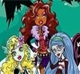 Pinte as Monster High 2