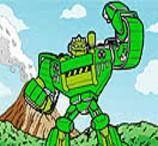 Pinte Boulder dos Transformers Rescue Bots