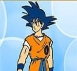Pinte Goku de Dragon Ball
