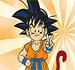 Pinte Goku Garoto