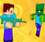Pinte Herobrine e Zumbi de Minecraft