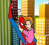 Pinte Homem Aranha Salvando Mary Jane