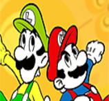 Pinte Mario e Luigi