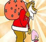 Pinte Masha e o Urso no Natal