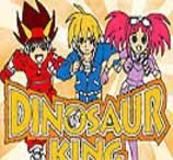 Pinte Max, Rex e Zoe de Dinossauro Rei