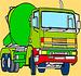 Pinte o Caminhão de Concreto