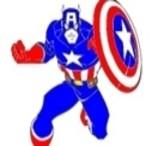 Pinte o Capitão América