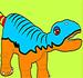 Pinte o Dinossauro Bebe