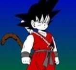 Pinte o Goku