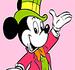 Pinte o Mickey Elegante