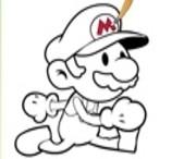 Pinte o Super Mario