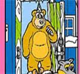 Pinte o Urso dos Contos de Masha