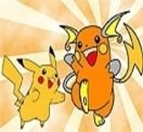 Pinte Pikachu e Raichu