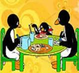 Pinte Pingu e Seus Pais