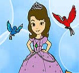 Pinte Sofia Com Seus Animaizinhos