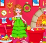 Princess Sofia Christmas Party Cleanup
