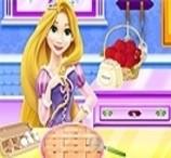 Rapunzel Cozinha Torta de Maçã
