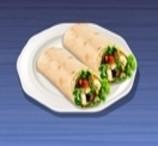 Sanduíches Wrap