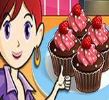 Sara Cozinha Cupcakes de Chocolate
