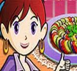 Sara cozinha Ratatouille