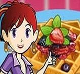 Sara Cozinha Waffles Franceses