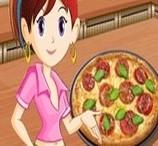 Sara Prepara Pizza Tricolor