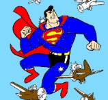Superman Online Coloring