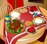 Thanksgiving Dinner Decoration