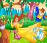 Um Quebra-Cabeças com Princesas em 3D
