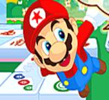 Uma Partida de Mahjong com o Super Mario