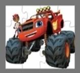 Uma Quebra-Cabeças com um Caminhão Gigante