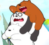 We Bare Bears: Scooter Streamers