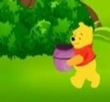 Winnie The Pooh - Apples Catching